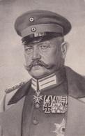Ansichtskarte Von Generalfeldmarschall V. Hindenburg - Personnages