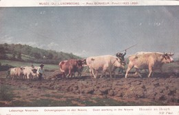 CARTOLINA -  MUSE'E DU LUXEMBOURG. ROSA BONHEUR PINXIT ( 1822 - 1899 ) - Lussemburgo - Città