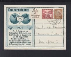 Dt. Reich GSK Tag Der Briefmarke 1937 ZD - Briefe U. Dokumente