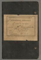 1920 / 15EME LEGION DE GENDARMERIE / COMPAGNIE DU VAR D3 - Documents