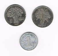 /  VIETNAM  3 X 1 DONG  1960/1964/2003 - Viêt-Nam