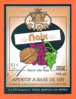 étiquette D'apéritif à Base De Vin De Noix G I A R à Banyuls Dels Aspres - 37,5 Cl - Sonstige