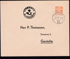 Denmark 1949 Mi 0258 Send From Strommen Pr Randers To GENTOFTE.......................................................286 - 1913-47 (Christian X)