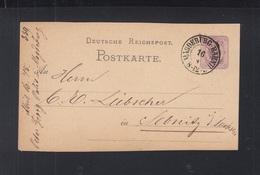 Dt. Reich GSK 1875 Magdeburg Bahnhof - Deutschland