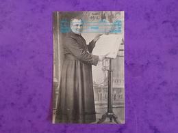 Cp 88 CORCIEUX L'ABBE ANTOINE Curé Doyen Au Pupitre 27 Mars 1912 ( Chapelle église ? ) Adr VERDENAL ST DIE - Corcieux