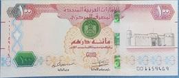 United Arab Emirates UAE 100 Dirhams 2018 Banknote - P NEW - UNC - United Arab Emirates
