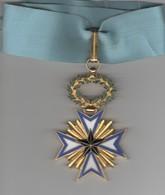 Décoration- Dahomey 1889   Ordre De L'étoile Noire ( Cravate + Boite ) Tres Bon état - Médailles & Décorations