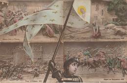 10 Cartes Puzzle - Jeanne D'Arc - History