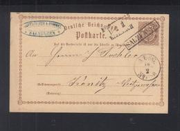 Dt. Reich GSK 1873 Salzungen - Deutschland
