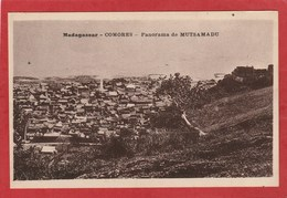 CPA: Comores - Panorama De Mutsamadu - Comores