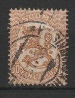 MiNr. 81 Finnland / 1917, 1. Okt./1930, 10. Sept. Freimarken: Wappen. Bdr.; OWz.; A = Gez. K (14:)14, B = Gez. K 14:14. - 1856-1917 Administration Russe