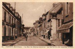 Pontivy -   La  Rue  Du  Général  Quinivet - Au  Sud  De  La  Ville  Quartier  Tréleau - Pontivy
