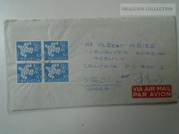 ZA125.9  Switzerland Suisse - Cover  Zurich  To Seoul Korea 1962 - Suisse