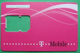 Macedonia GSM CHIP PREPAID CARD USED, Operator: TMOBILE, ND, - Macedonia