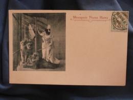 Menagerie Numa Hawa  Dompteuse De Lions  Précurseur  Circulée 1906 - R259 - Cirque