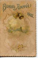 157. LIVRET CARTONNE CALENDRIER BONNE ANNEE 1902 DELACHAUX ET NIESTLE A NEUCHATEL - Calendriers
