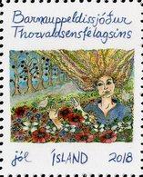 Iceland - 2018 - Christmas Seals - Mint Stamp - Ongebruikt