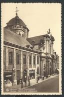 +++ CPA - MALINES - MECHELEN - O.L.V. Hanswijckkerk - Eglise - Pompes Essence Renault - Nels // - Malines