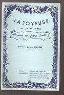 Mont De Marsan (40 Landes) Programme LA JOYEUSE DE ST GOR 1988  (PPP9672) - Programs
