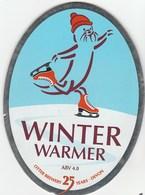 OTTER BREWERY (LUPPITT, ENGLAND) - WINTER WARMER - PUMP CLIP FRONT - Signs