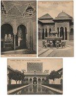 GRANADA - Alhambra (3 Cartes) - Granada