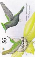 Grenada YV BF 290 MNH 1992 Orthorhynchus - Hummingbirds