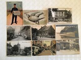 LOT + De 100 CPA - CPA ANIMEES/CPA PHOTO/PRECURSEURS/ILLUSTRATEURS/DIVERS - VOIR SCANS - - Postcards