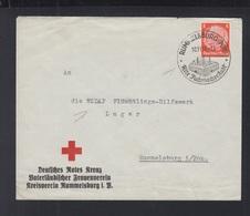 Dt. Reich Brief Rotes Kreuz Frauenverein Rummelsburg - Brieven En Documenten