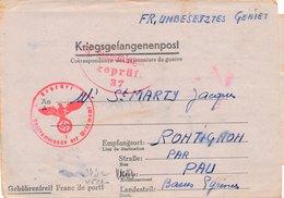 Carte Prisonniers De Guerre Stalag VII C Greifswald I.Pomm A.Kdo VI/1202 - 2. Weltkrieg 1939-1945