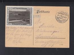 Dt. Reich Feldpost Wohlfahrtsmarke Luftfahrerdank - Deutschland