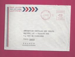 Lettre Pour La France De 1975 - EMA à 0,32 - French Polynesia
