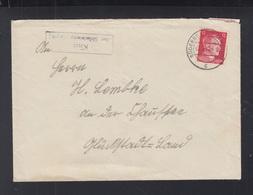 Dt. Reich Brief 1942 Kius über Süderbrarup - Deutschland