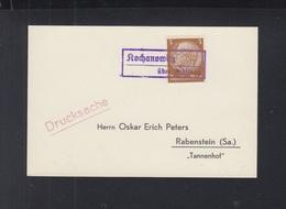 Dt. Reich Besetzung Polen Poland PK Kochanowitz Nach Rabenstein - Briefe U. Dokumente