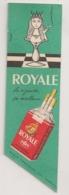 MARQUE PAGES / CIGARETTES ROYALE / GAULOISE DISQUE BLEU / JEU ECHEC / B677 - Tabac (objets Liés)