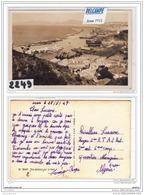 8385 AK/PC/CARTE PHOTO /2249/CONSTANTINOPLE/PONT DE GALATA /1924 /CACHET TRESOR ET POSTESTTB - Turchia