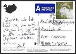 2013 - ISLAND - Card + Y&T 1330 [Capra Aegagrus Hircus] - 1944-... Republique
