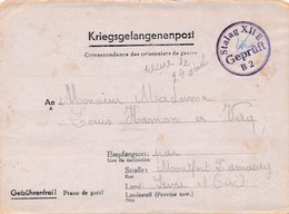 Carte Prisonniers De Guerre Stalag 212 E Rayé Puis E XII Metz Camp N°6 - Marcophilie (Lettres)