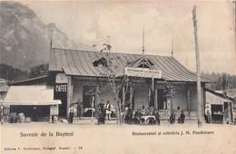 Busteni , Prahova ,  Restaurantul + Cofetaria  J.N. PANDELESCU - Romania