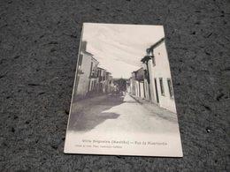 ANTIQUE POSTCARD PORTUGAL - VILLA NOGUEIRA ( AZEITÃO) -RUA DA MISERICORDIA UNUSED - Setúbal