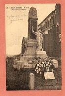 CPA -BILLY-BERCLAU (62) - Le Monument Aux Morts Et Le Panneau Rempli De Petites Plaques émaillées Funéraires En 1930 - Andere Gemeenten