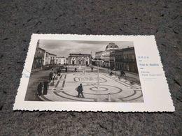 ANTIQUE PHOTO POSTCARD PORTUGAL - BEJA - PRAÇA DA REPUBLICA CIRCULATED 1950 - Beja