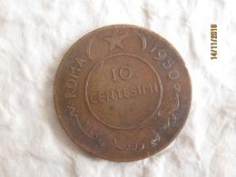 Somalia AFIS: 10 Centesimi 1950 - Somalie