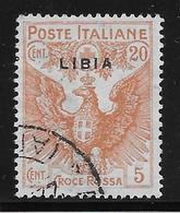 Libye N°16 - Oblitéré - TB - Libia