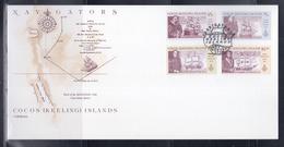 Cocos (Keeling) Islands 1990 Navigators First Day Card - Cocos (Keeling) Islands