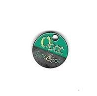 Jeton De Caddie Argenté  Ville, Département, Habitation  OPAC  De  EURE & LOIR  ( 28 ) - Trolley Token/Shopping Trolley Chip