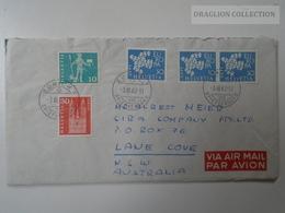 ZA127.18  Switzerland Suisse Cover -Zürich  To Lane Cove NSW  Australia 1962 - Suisse