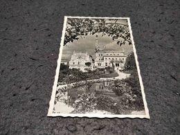 ANTIQUE PHOTO POSTCARD PORTUGAL - BUÇACO - PALACE HOTEL E CASA DOS BRAZOES CIRCULATED 1959 - Aveiro