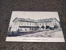 ANTIQUE POSTCARD PORTUGAL - CALDELLAS - GRANDE HOTEL VILLA DEOLINDA CIRCULATED 1917 - Braga