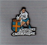 Pin's  Sport  Rugby  CHALON  En  CHAMPAGNE  ( 51 ) - Rugby