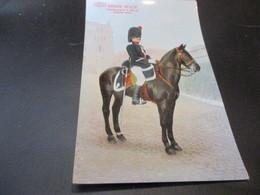 Armee Belge,Gendarmerie A Cheval, Grande Tenue - Uniformes